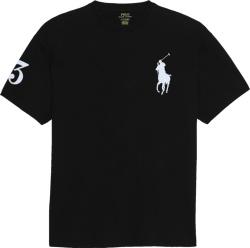 Polo Ralph Lauren Black Big Pony 3 Print T Shirt