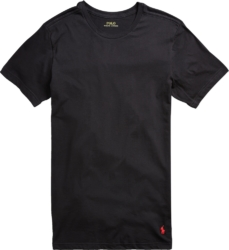 Polo Ralph Lauren Black Crew Neck 3 Pack T Shirts