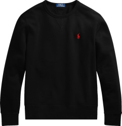 Polo Ralph Lauren Black Crewneck Sweatshirt