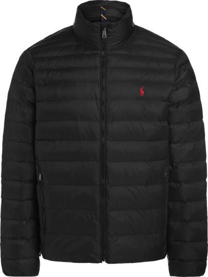 Polo Ralph Lauren Black Packable Puffer Jacket
