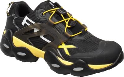 Polo Ralph Lauren Black Yellow Sneakers