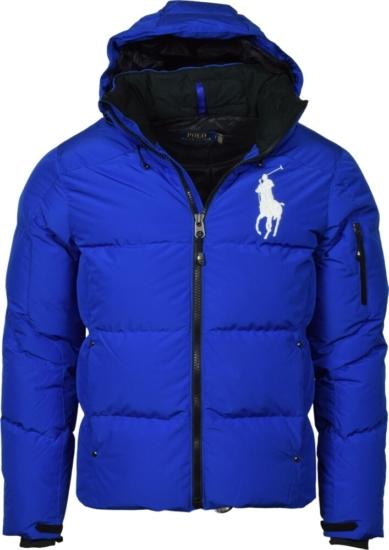 Polo Ralph Lauren Blue Puffer Jacket