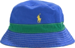 Polo Ralph Lauren Blue Reversible Bucket Hat