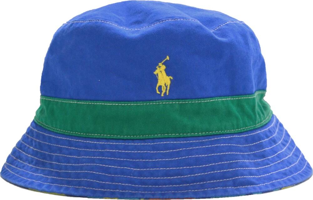 Polo Ralph Lauren Blue Reversible Bucket Hat