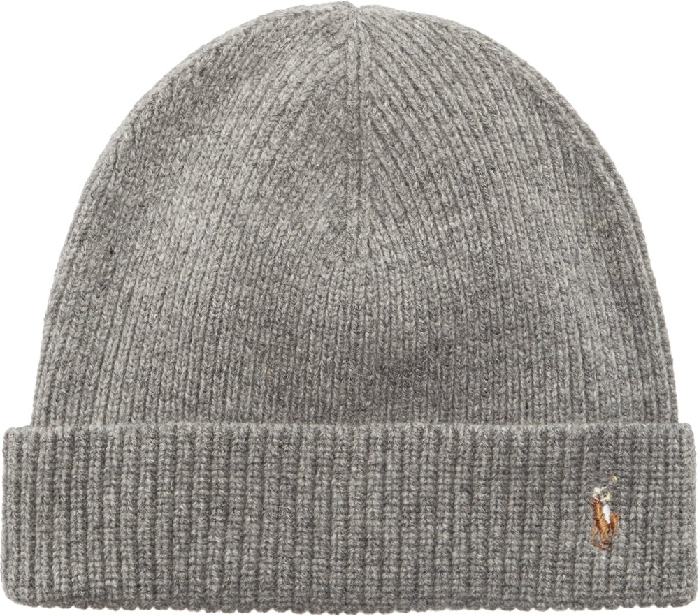Polo Ralph Lauren Grey Knit Beanie