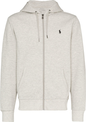 Polo Ralph Lauren Light Grey Zip Hoodie