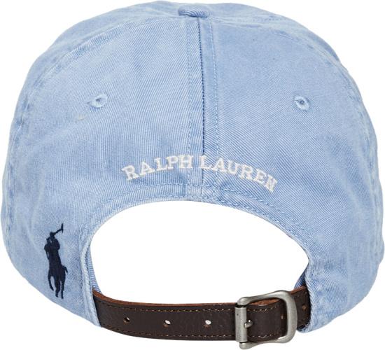 Polo Ralph Lauren Ligth Blue Montauk Hat