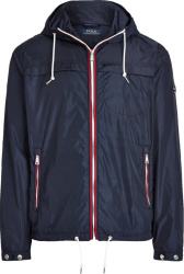 Polo Ralph Lauren Navy Blue Hooded Packable Jacket