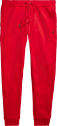 Polo Ralph Lauren Red Double Knit Joggers