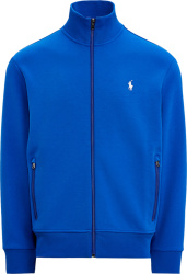 Polo Ralph Lauren Royal Blue Double Knit Track Jacket