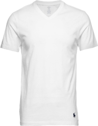 White Slim Fit V-Neck Undershirt