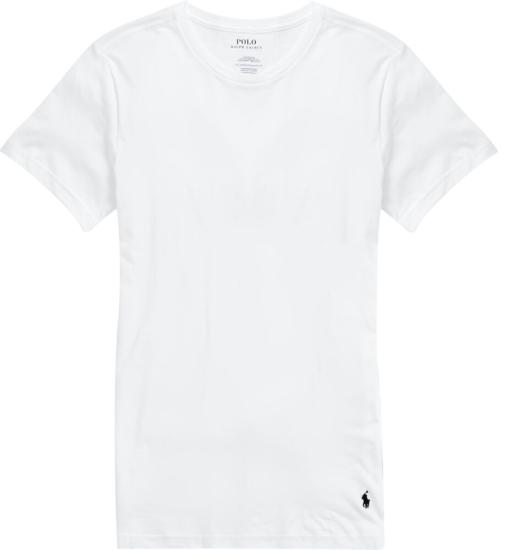 Polo Ralph Lauren White Crew Neck Undershirt