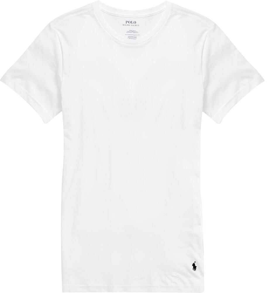 White Slim Fit Crewneck Undershirt