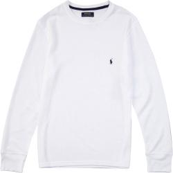 Polo Ralph Lauren Whtie Waffle Knit Shirt
