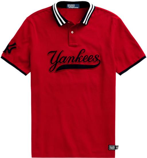 Polo Ralph Lauren X New York Yankees Red Polo