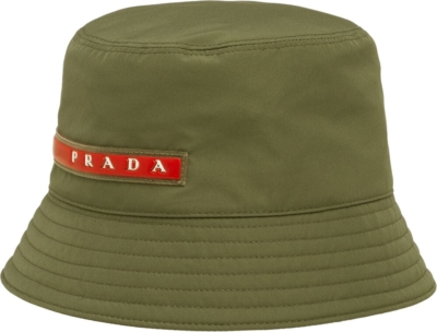 Prada Army Green Bucket Hat