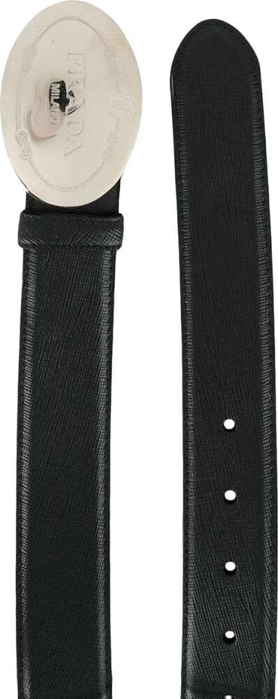 Prada Belt With Western Style Buckle
