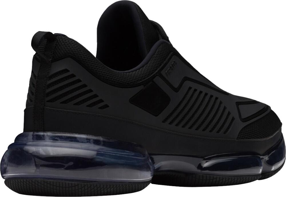 Prada Black Air Sole Sneakers