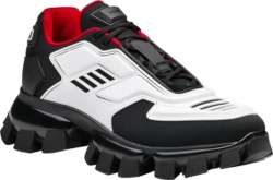 Prada Black And White Cloudbust Thunder Sneakers