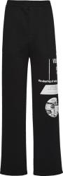Prada Black And White Printed Sweatpants Ujp179 1ywv F0967 S 211