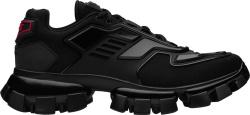 Prada Black Cloudbust Thunder Sneakers
