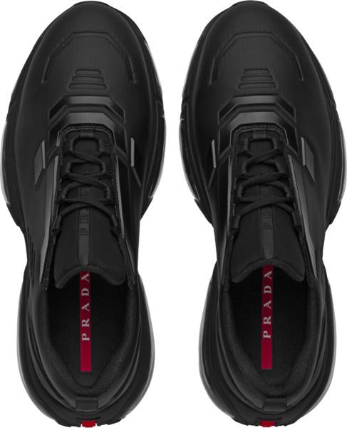 Prada Black Collision 19 R Sneakers