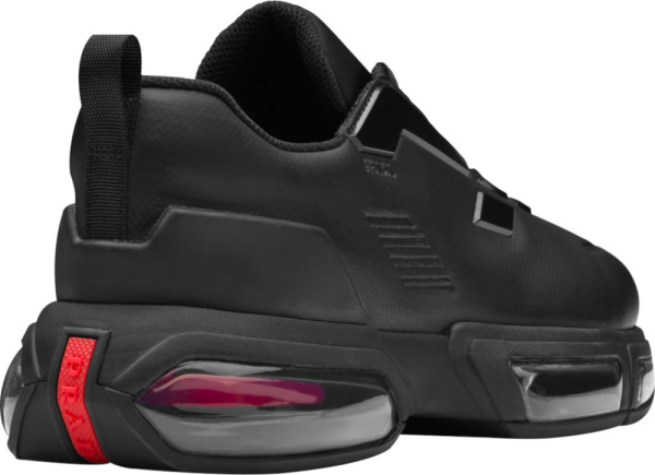 Prada Black Collision Air Sole Sneakers