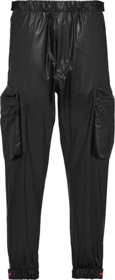 Prada Black Light Nylon Cargo Pants Sph56 1t2y F0002 S 201