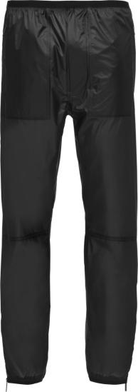 Prada Black Lr Lx043 Ripstop Nylon Trackpants Sph95 1s0f F0002 S 211