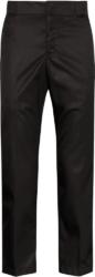 Prada Black Nylon Cropped Pants