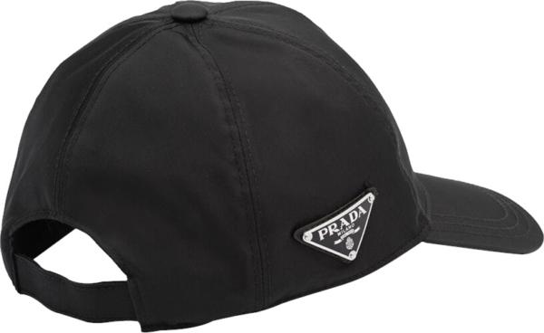 Prada Black Nylon Hat
