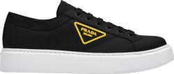 Prada Black Nylon Platform Sneakers