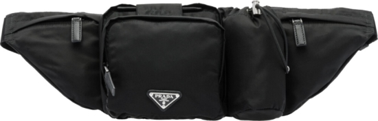 Prada Black Tech Belt Bag