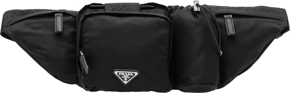 Prada Black Tech Belt Bag