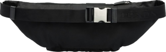 Prada Black Technical Belt Bag