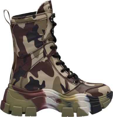 Prada Block Camouflage Boots