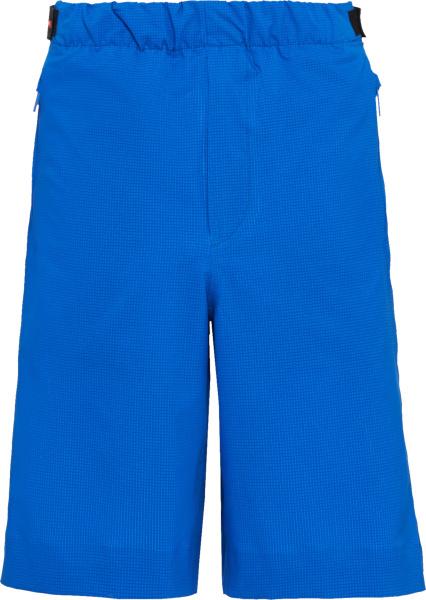 Prada Blue Bi Stretch Bermuda Shorts