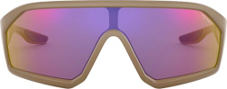 Prada Brown Mirrored Multi Sunglasses