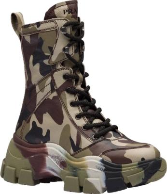 Prada Camo Boots