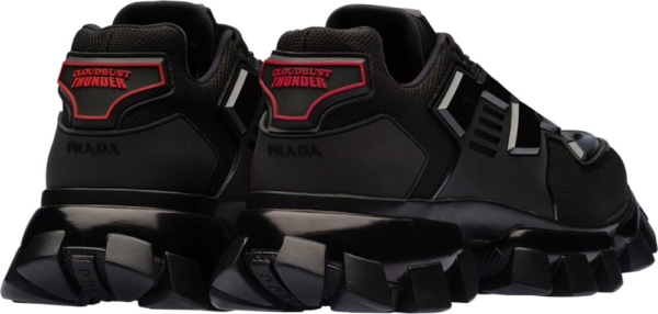 Prada Chunky Black Sneakers