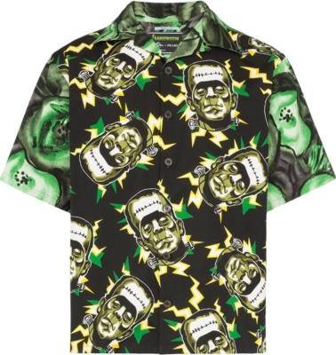 Prada Frankenstein Print Shirt