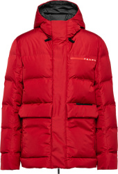 Prada Linea Rossa Red Goretex Puffer Jacket Sgb589 1xyv F0011 S 202