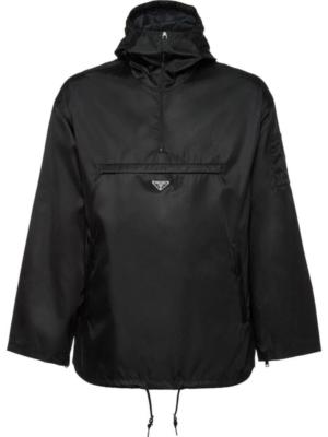 Prada Nylon Gabardine Anorak Jacket Worn By Frank Ocean