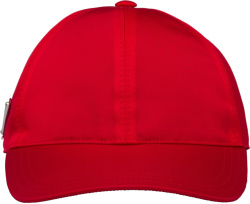 Prada Red Nylon Hat