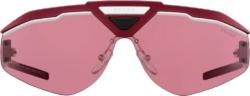 Prada Red Runway Sunglasses