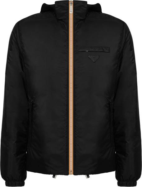 Prada Reversible Brown Print Jacket
