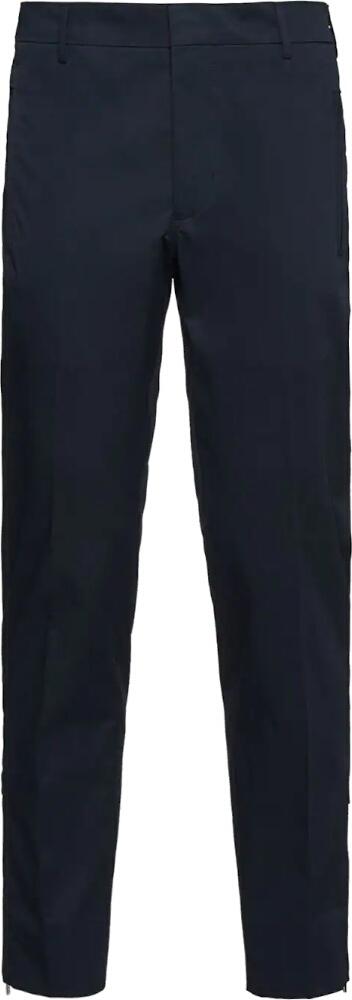 Prada Tapered Zip Trousersl