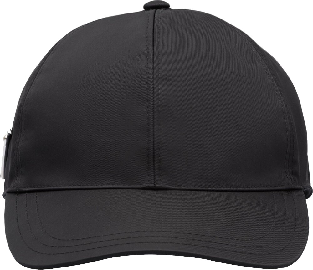 Prada Triangle Logo Black Hat