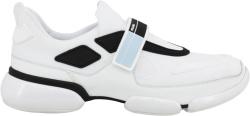 Prada White Cloudbust Strap Sneakers