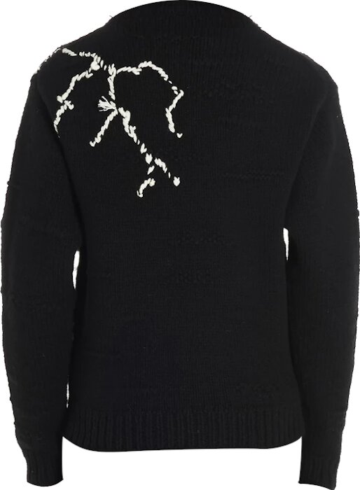 Prada X Frankenstein Black Knit Sweater